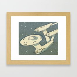 Happy Enterprise Framed Art Print