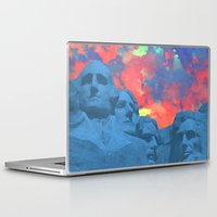 rushmore Laptop & iPad Skins featuring Mt Rushmore by Calepotts