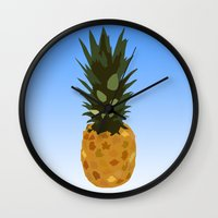 psych Wall Clocks featuring Psych by Lauren Lee Design's