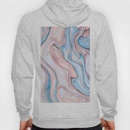 Marble  pink & blue Hoody
