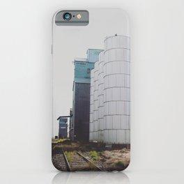 Fading Tracks iPhone Case