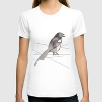 crow T-shirts featuring Crow by Dream Of Forest