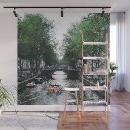 Canal Cruise Wall Mural