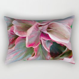 Tea Leaf Bloom Rectangular Pillow