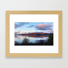 Loch Lomond Sunrise Framed Art Print