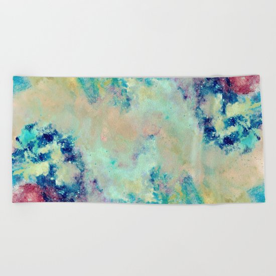 Paint & Thoughts Beach Towel