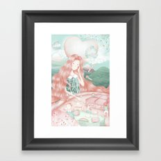 The beauty of confinement  Framed Art Print