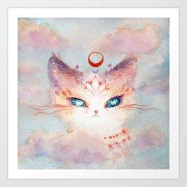 Stargazer Cat : Vision Seeker Art Print