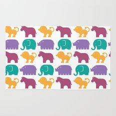 Fun at the Zoo: Pattern Rug
