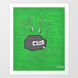 iRock Art Print