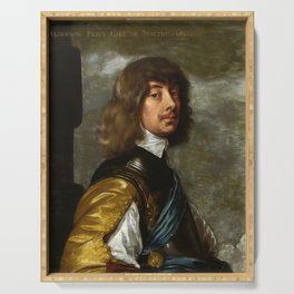 "Sir Anthony van Dyck ""Algernon Percy, 10th Earl of Northumberland"" Serving Tray"