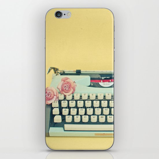 The Typewriter iPhone & iPod Skin