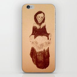 Death's pretty iPhone Skin
