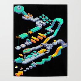 Level 64 Poster