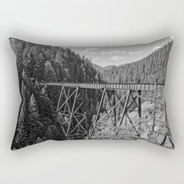 Otherside B&W Rectangular Pillow