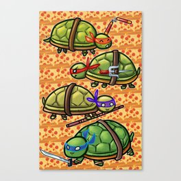 Teenage Ninja Turtles Canvas Print