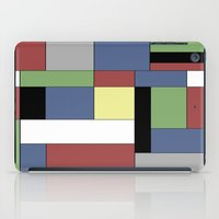 mondrian iPad Cases featuring Mondrian #5 by Ron Trickett