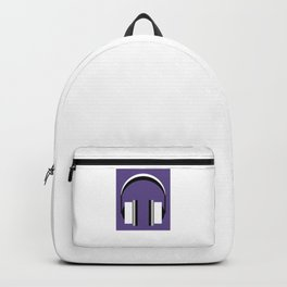 Headphones in Ultra Violet Backpack