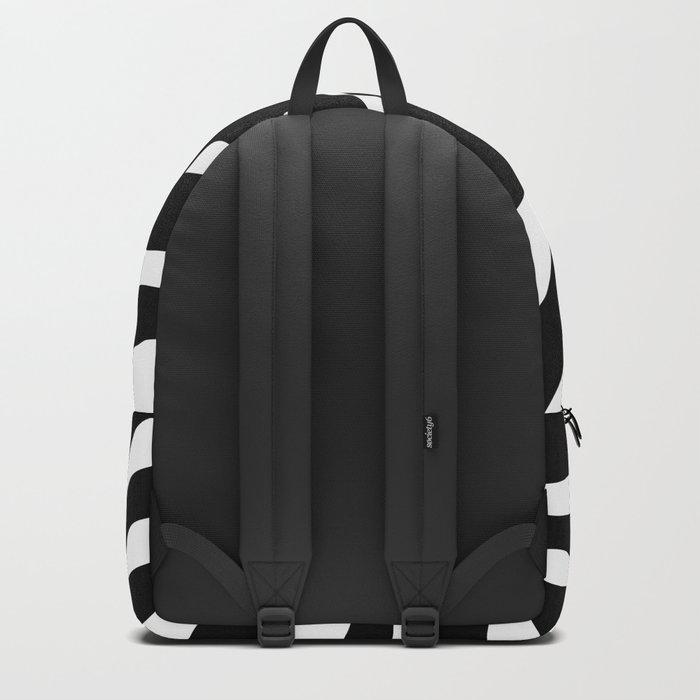Black and white Zebra Stripes Design Backpack