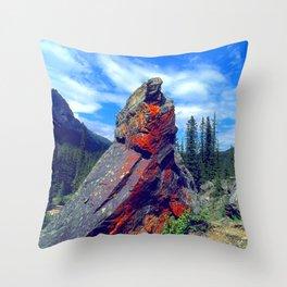 Mysterious, Magical Rock Throw Pillow