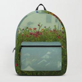 Swansea Wild Flowers Backpack