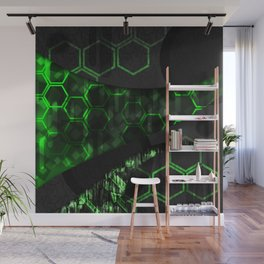 Digital Noise Wall Mural