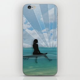 View from a Surfboard iPhone Skin