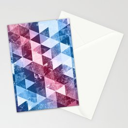 Abstract Geometric Background #8 Stationery Cards