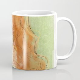 Colored Portrait Coffee Mug