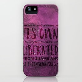 Its own liberated self-consciousness iPhone Case