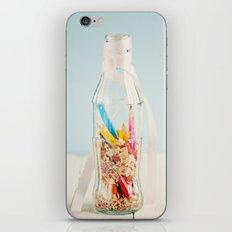 Botella de colores iPhone & iPod Skin