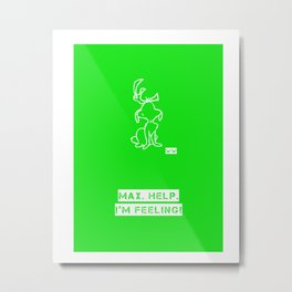 GRINCH Metal Print