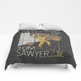 Books Collection: Tom Sawyer Comforters
