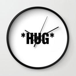 TXT SPK: *HUG* Wall Clock