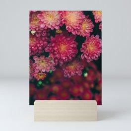 Autumn Vibes - Boho Rose Flowers Mini Art Print