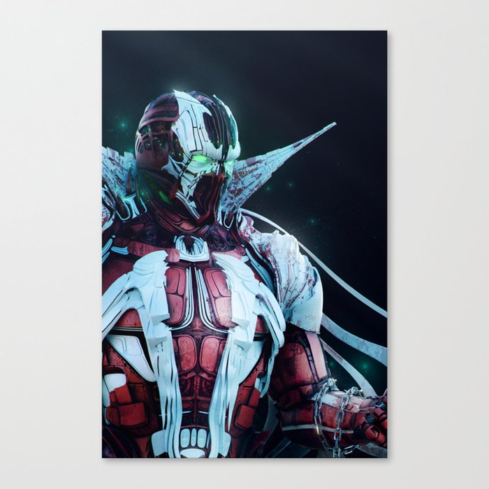 Spawn Vertical2 Canvas Print