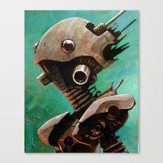 Twin #2 Robot Canvas Print