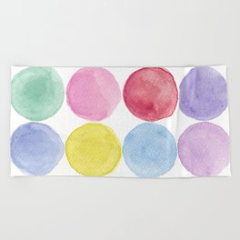 dotted and well organized Beach Towel