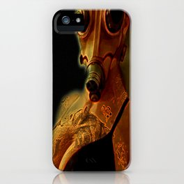 Breathe Deeply iPhone Case