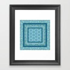 Mya Square Framed Art Print