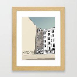 Warschauer Strasse Framed Art Print