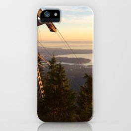 Grouse mountain iPhone Case