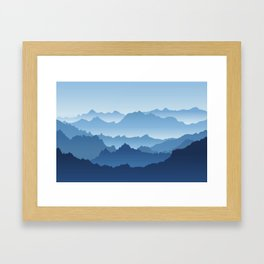 No Boundaries Framed Art Print