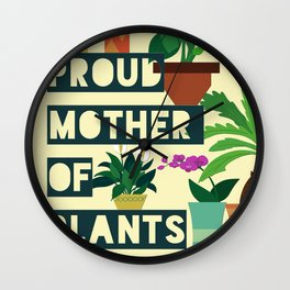 Mother of plants Wall Clock