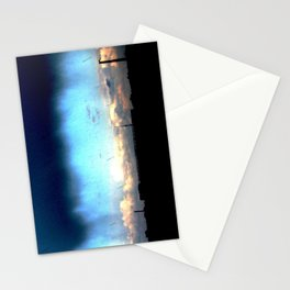 Cave from clouds.  Stationery Cards