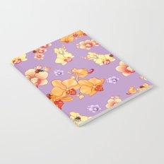 Orchids & Ladybirds Notebook