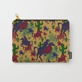 Cowboys Pattern Carry-All Pouch