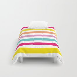 Color Stripe Comforters