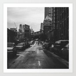 Brooklyn Loner Art Print