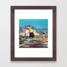 Desert Dessert Framed Art Print